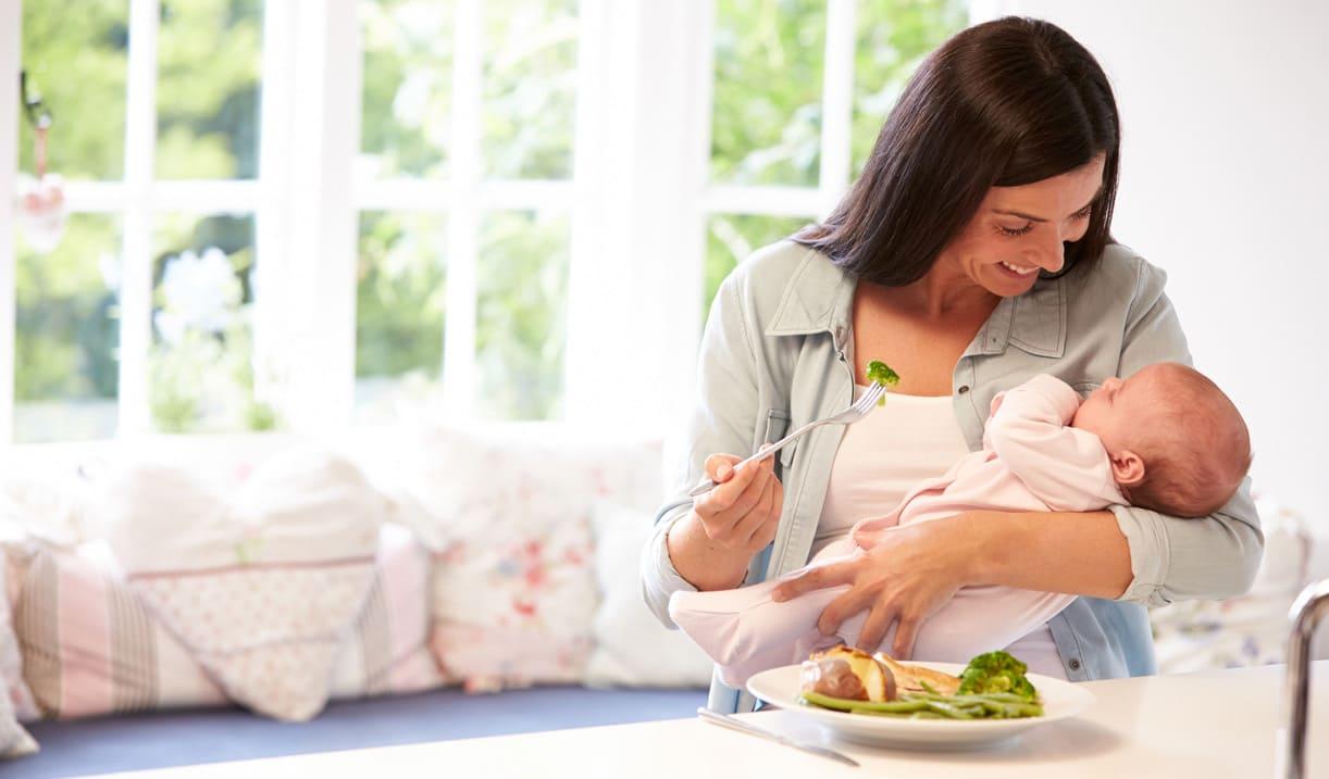 Диета для кормящих детей