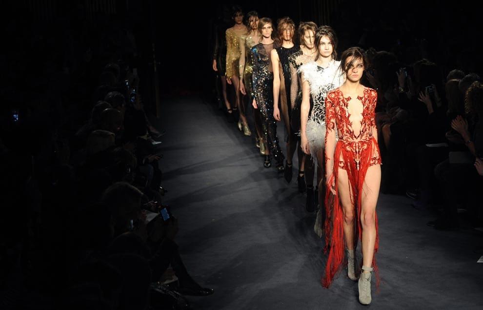 Неделя моды в Лондоне fashion