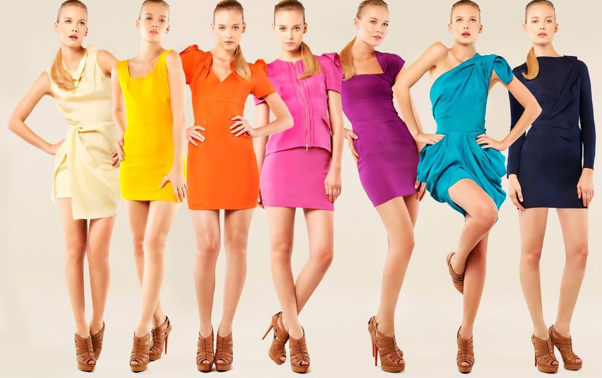 сочетание цвета одежда